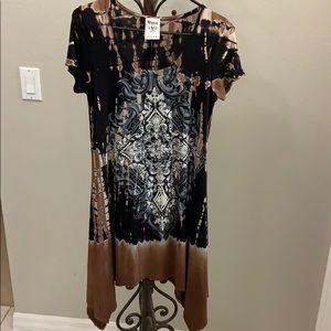 Vocal Asymmetrical Dress